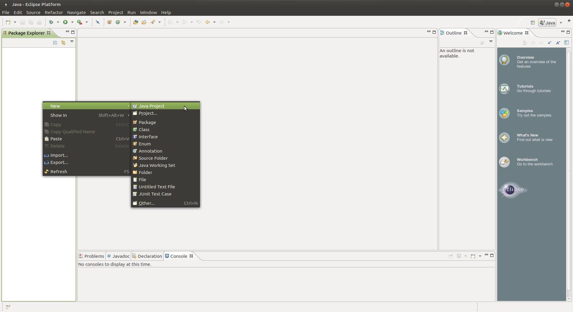 Captura-Java - Eclipse Platform