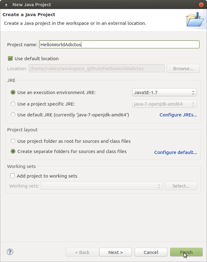 Captura-New Java Project
